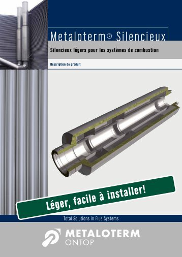 Brochure Silencieux - Metaloterm