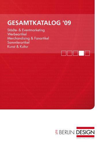 GESAMTKATALOG '09 - Berlin Design
