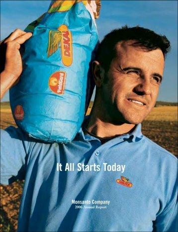 2006 Annual Report - Monsanto