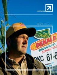 Monsanto 2007 Annual Report & 10-K