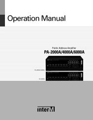 PA-4000A - Inter-M