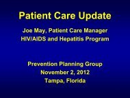 J May PPG Nov 2012 Patient Care.pdf - The AIDS Institute