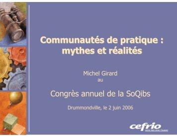 M. Michel Girard - SoQibs
