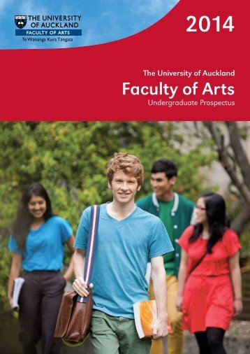 2014 Arts Undergraduate Prospectus - Faculty of Arts - The ...