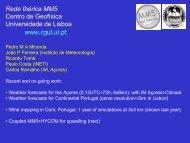 Apresentação do PowerPoint - Red Ibérica MM5