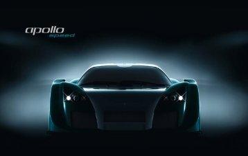 Gumpert Apolllo Speed PDF flyer - click to download - Gumpert UK
