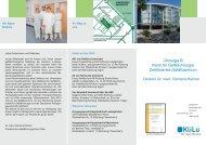 Chirurgie B Klinik für Gefäßchirurgie Zertifiziertes Gefäßzentrum