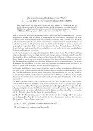 Abschlussbericht - Prof. Dr. Hans-Gert Gräbe