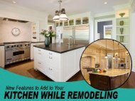 Kitchen Renovations in Ottawa - Features to Consider