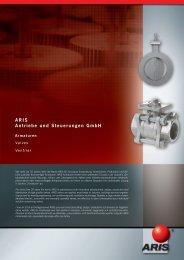 ARIS Antriebe und Steuerungen GmbH - SES Combustion AB