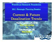 Current & Future Desalination Trends