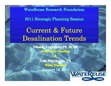 Current & Future Desalination Trends