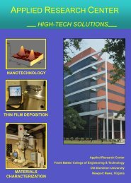 ARC Bi-fold brochure... - College of Engineering and Technology