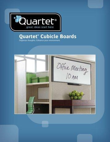 Quartet® Cubicle Boards - Net