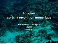 CapDigital : L'Education après la révolution numérique
