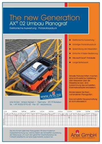 PDF Broschüre zur Umrüstung eines vorhandenen ... - Anix GmbH