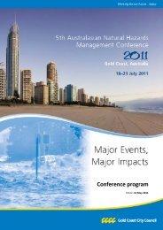 Conference Program 2011 - HazardsEducation.org