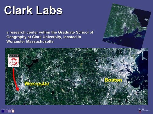 Clark Labs - Belfer Center for Science and International Affairs