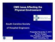 CMS Issue Affecting the CMS Issue Affecting the Physical Environment