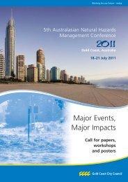 the 2011 Conference brochure PDF - HazardsEducation.org