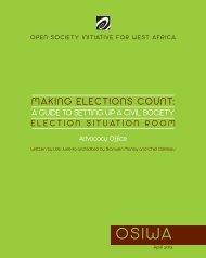 Making Elections Count - osiwa
