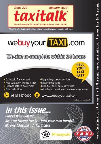 Taxi Talk January 2012.indd