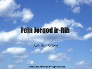 Preżentazzjoni – Fejn Jorqod ir-Riħ - WordPress.com