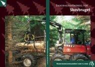 Sikkerhedshåndbog for skovbruget - BAR - jord til bord.