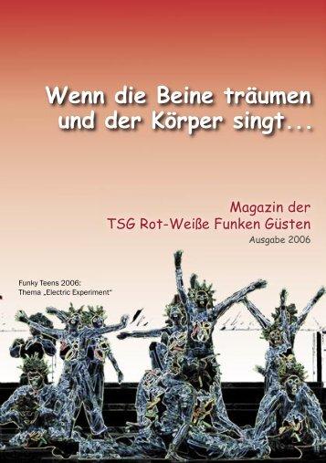 Magazin der TSG Rot-Weiße Funken Güsten