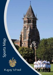 Sports Map - Rugby School