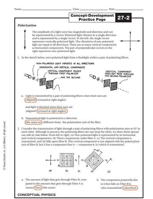 Concept Development Practice Page