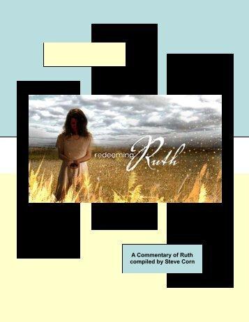 Ruth Commentary - Steve Corn