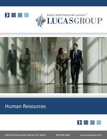 Human Resources - Lucas Group