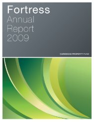 2009 Report.pdf - Fortress Fund Managers