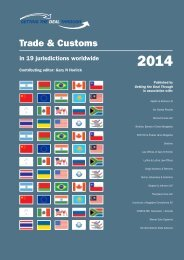 Trade & Customs - Bichara, Barata & Costa Advogados