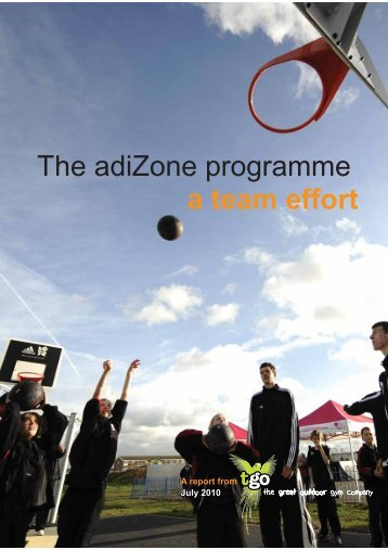 The adiZone programme a team effort