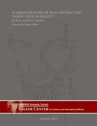 Al Qaeda Weapons of Mass Destruction Threat - Belfer Center for ...