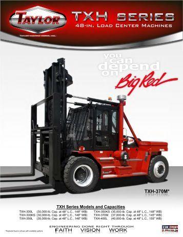 TXH Series Brochure - Taylor Machine Works