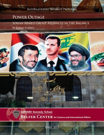 Power Outage: Syrian Armed Group Alliances in the Balance