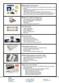 TRON - firemní profil - TRON elektronické součástky sro - Page 2