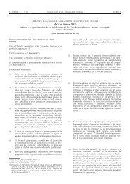 DIRECTIVA 2002/46/CE DEL PARLAMENTO EUROPEO ... - EUR-Lex