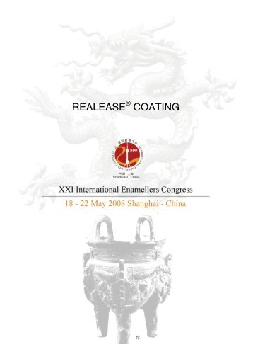 RealEase® Coating - IEI, International Enamellers Institute