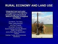 Integrated Land and Water Management in Floodplains