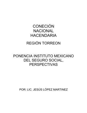 Instituto Mexicano del Seguro Social, Perspectivas - Indetec