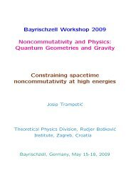 Constraining spacetime noncommutativity at high energies
