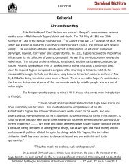 Editorial - BASC - Bengali Association of Southern California
