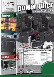 Kabelbrcken DJ-Equipment Stromverteiler