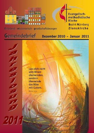 Gemeindebrief Dez-Jan 2011w.DOC - Zionsgemeinde