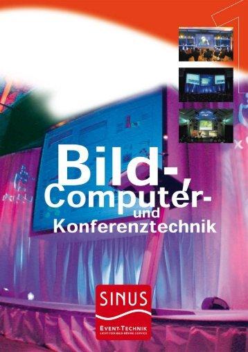 Bild-, Computer- & Konferenztechnik - SINUS Event-Technik GmbH