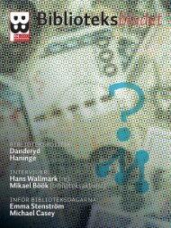 2007/4 - Svensk Biblioteksförening